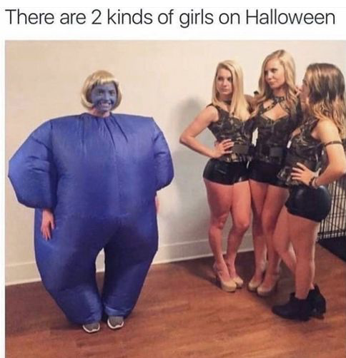 2-kinds-of-girls-halloween-meme