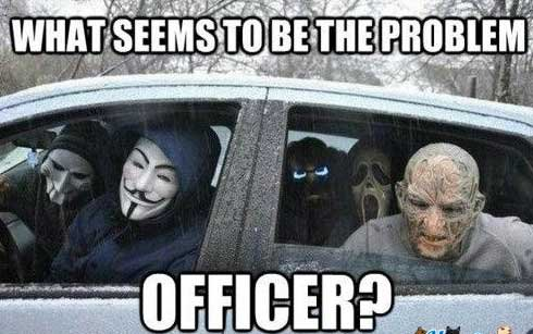 What seems to be the problem officer