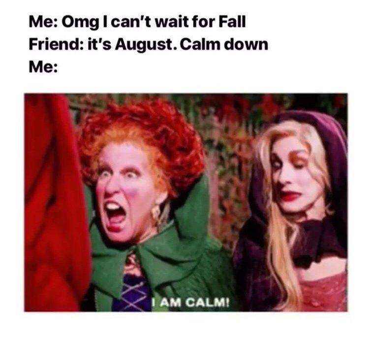 OMG I can't wait for fall