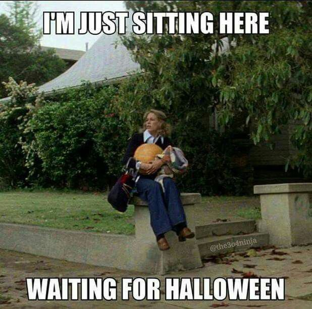 I'm just sitting here waiting for Halloween
