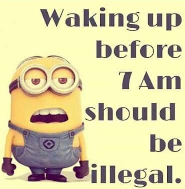waking-up-minions-memes