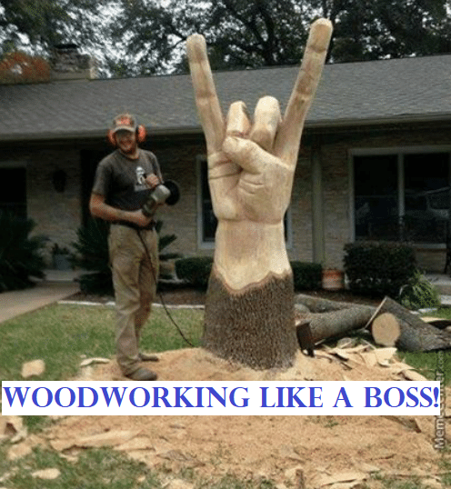 Woodworking Meme